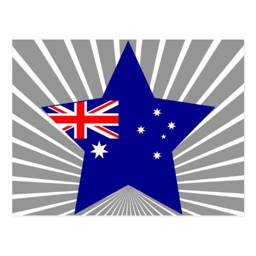 Australia Star Post Cards