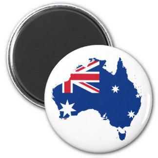 Australia stub, Australia 2 Inch Round Magnet