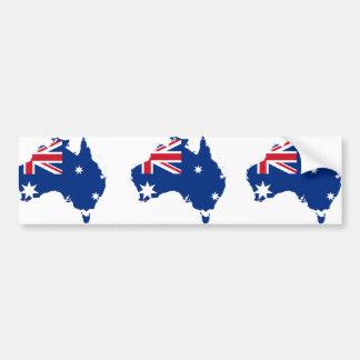 Australia stub, Australia Car Bumper Sticker