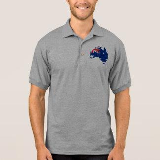 Australia stub, Australia Polo Shirt