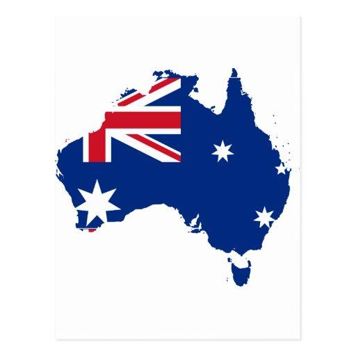 Australia stub, Australia Post Card