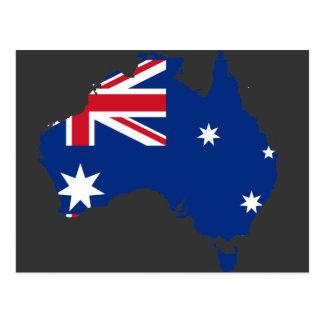 Australia stub, Australia Postcard