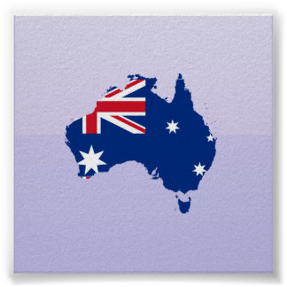 Australia stub, Australia Poster