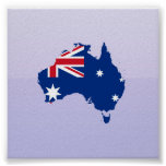 Australia stub, Australia Posters