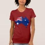 Australia stub, Australia Tshirt