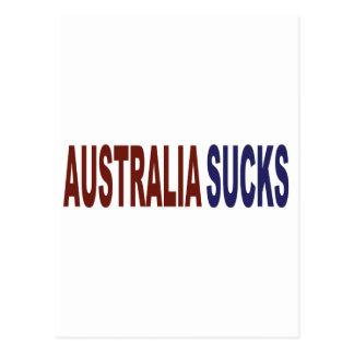Australia Sucks Postcard