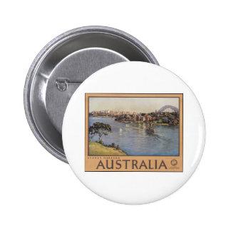 Australia Sydney Harbour Button