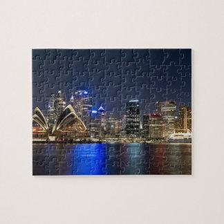Australia, Sydney. Horizonte con el teatro de la ó Puzzle
