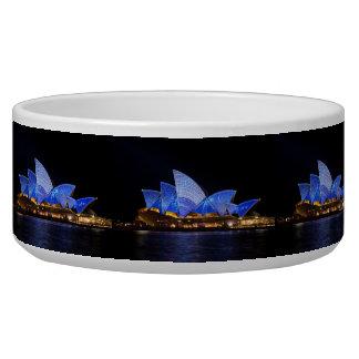 Australia Sydney Opera House At Night Bowl