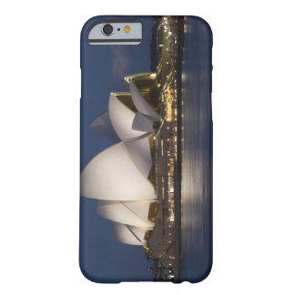 Australia, Sydney. Opera House at night on Barely There iPhone 6 Case