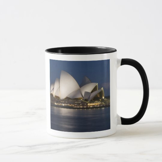 Australia, Sydney. Opera House at night on Mug