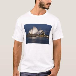Australia, Sydney. Opera House at night on T-Shirt