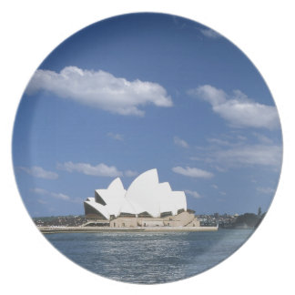 Australia  sydney opera house party plate