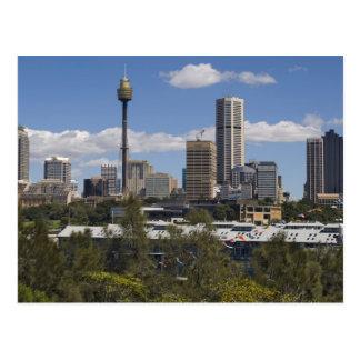 Australia, Sydney, punto de Potts. Horizonte de Tarjetas Postales