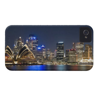 Australia, Sydney. Skyline with Opera House seen iPhone 4 Case-Mate Case