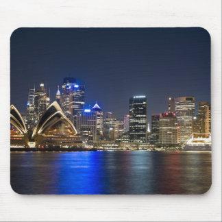 Australia, Sydney. Skyline with Opera House seen Mouse Pad