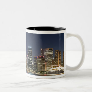 Australia, Sydney. Skyline with Opera House seen Two-Tone Coffee Mug