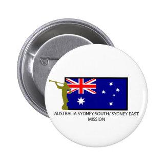 AUSTRALIA SYDNEY SOUTH/ SYDNEY EAST MISSION LDS BUTTON