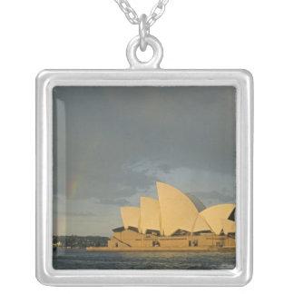 Australia, Sydney, Sydney Opera House, Square Pendant Necklace