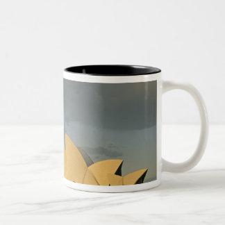 Australia, Sydney, Sydney Opera House, Two-Tone Coffee Mug