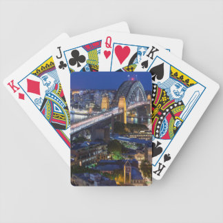 Australia, Sydney, The Rocks area, Sydney Harbor Bicycle Playing Cards