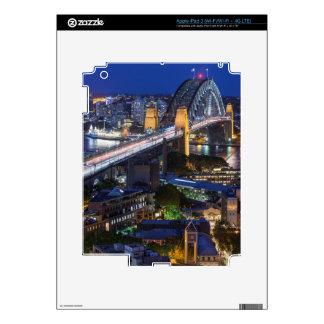 Australia, Sydney, The Rocks area, Sydney Harbor Skin For iPad 3