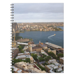 Australia, Sydney, view over The Rocks & Sydney Spiral Note Book