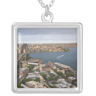 Australia, Sydney, visión sobre las rocas y Sydney Collar Plateado