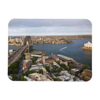 Australia, Sydney, visión sobre las rocas y Sydney Imanes Rectangulares