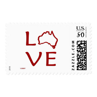 Australia T-Shirts and Gifts, Love Australia! Postage