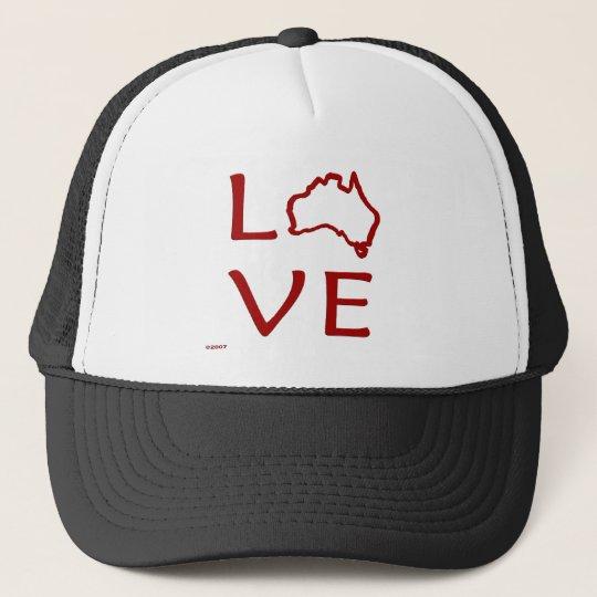 Australia T-Shirts and Gifts, Love Australia! Trucker Hat