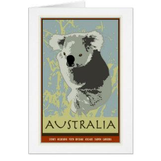 Australia Tarjeta