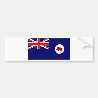 Australia Tasmania Flag Car Bumper Sticker