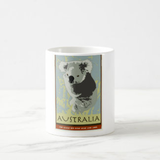 Australia Taza Básica Blanca