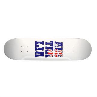 AusTraLia Text Flag Skate Board Decks