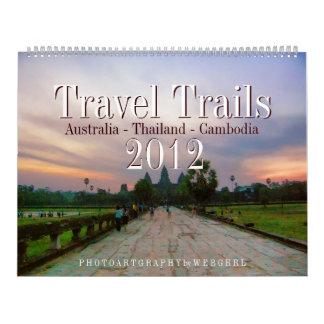 Australia Thailand Cambodia Travel 2012 Calendar