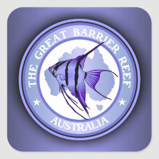 Australia -The Great Barrier Reef Square Sticker