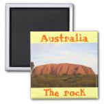 Australia the rock cool magnet design