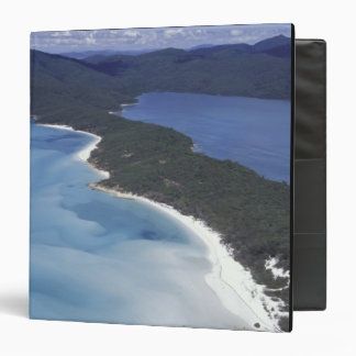 Australia, The Whitsundys, Queensland. Hill 3 Ring Binder