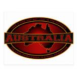 Australia - tome un alza y pierdase en el interior postales