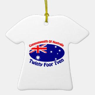Australia - Twinty Foor 7ven Christmas Ornaments