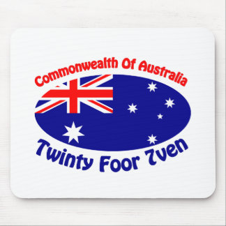 Australia - Twinty Foor 7ven Mouse Pad