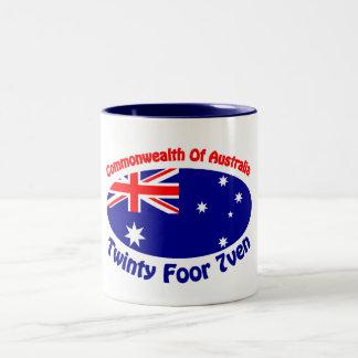 Australia - Twinty Foor 7ven Two-Tone Coffee Mug