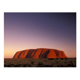 Australia, Uluru Kata Tjuta National Park, Uluru 2 Postcard
