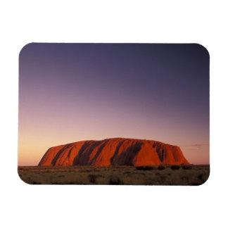 Australia, Uluru Kata Tjuta National Park, Uluru 2 Flexible Magnet