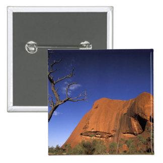 Australia, Uluru Kata Tjuta National Park, Uluru Button