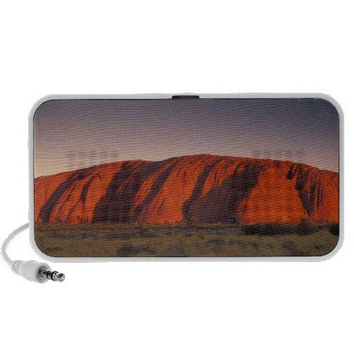 Australia, Uluru National Park. Uluru or Mini Speaker