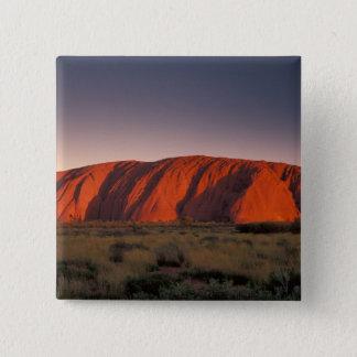 Australia, Uluru National Park. Uluru or Pinback Button