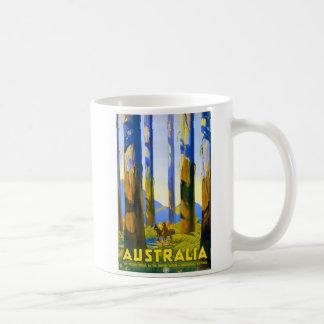 Australia - viaje del vintage taza