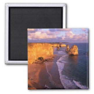 Australia, Victoria. 12 apóstoles, puerto Imán De Frigorífico